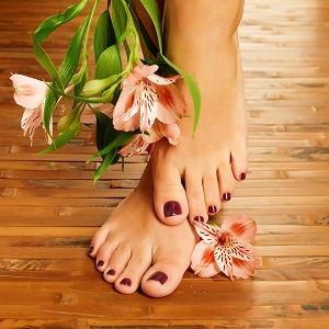 Natural Product Pedicure
